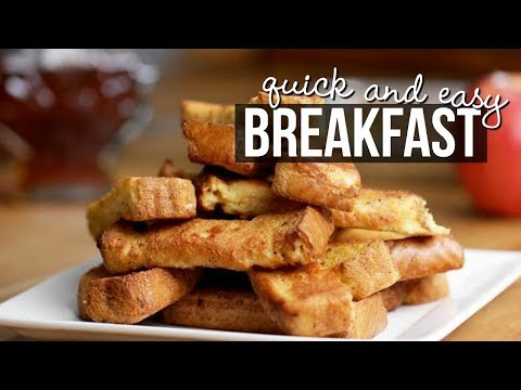 QUICK AND EASY BREAKFAST IDEAS | SCCASTANEDA