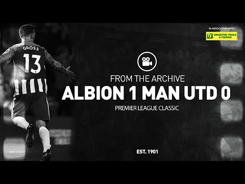 Classic PL Match: Albion 1 Man United 0