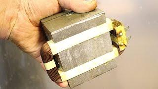 Вот, что можно сделать из трансформатора микроволновки!