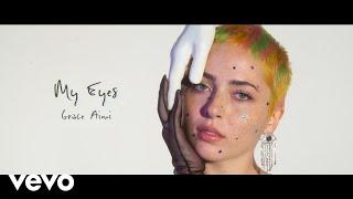 YouTube動画:Grace Aimi - My Eyes (Prod. Mantra & Chaki Zulu) [Visualizer]