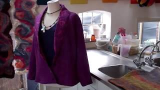 Cooking | Bodyflower, expositie viltwerk cursisten, Feltmaking