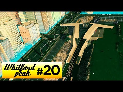 SUNKEN RAIL HUB | Cities Skylines - Whitford Peak [20]