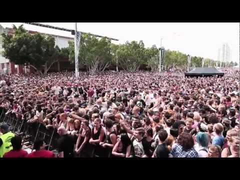 Northlane Live Highlights @ SOUNDWAVE 2013 Sydney Olympic Park