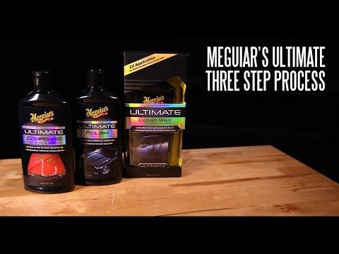 Ultimate 3 Step Process - Compound, Polish & Wax