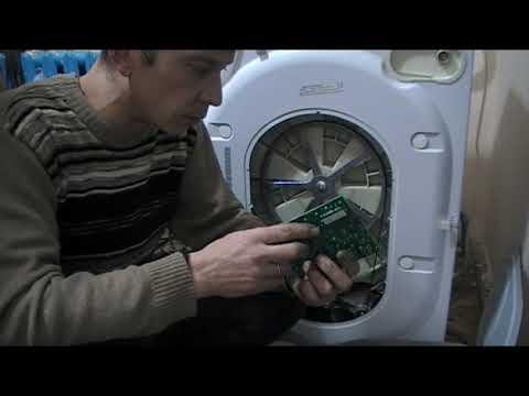 стиральная машина  индезит не включается