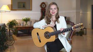 Tatyana Ryzhkova's Signature Model by Raimundo now at GSI!  #gsi #tatyanaryzhkova #bestguitar