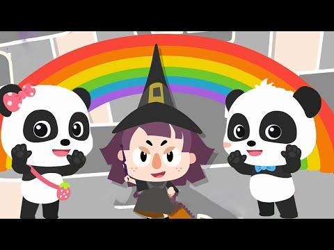 장난꾸러기 마녀의 색깔놀이|색깔이 사라졌어요 !| 생활동요|색깔 배우기|learn colors|어린이동요|유아교육|베이비버스 인기동요|BabyBus