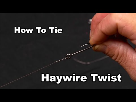 How To Tie The Haywire Twist- Saltwater Experience