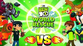 BEN 10: WORLD RESCUE - EPIC 1VS1 - FINAL FIGHT (THE BOSS) - CARTOON NETWORK GAMES