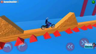 Bike Master 3d / Bike Stunt Games / Bike Racing Games / Android Gameplay Video #6