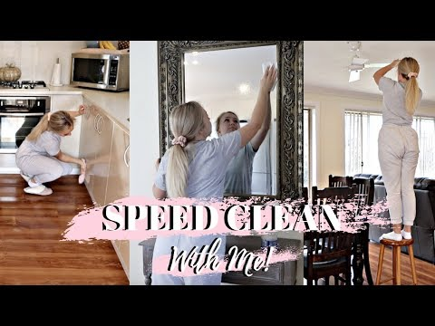 SPRING SPEED CLEAN WITH ME FOR HALLOWEEN 2019 | CLEANING MOTIVATION