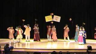 Kids Bollywood Remix Dance at HSNC, Morrisville, NC, USA Holi Fest 2009