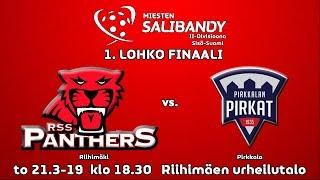 Miesten II-div Sisä-Suomi 1. finaali RSS Panthers vs. Pirkkalan Pirkat