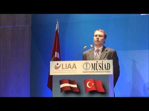 Latvia Turkey Business Forum (April 02, 2013)