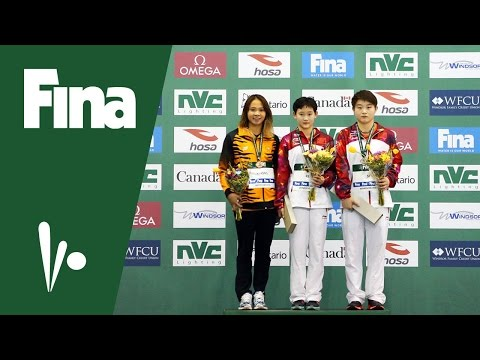 REN Qian (CHN) wins Women's 10m Platform in Windsor