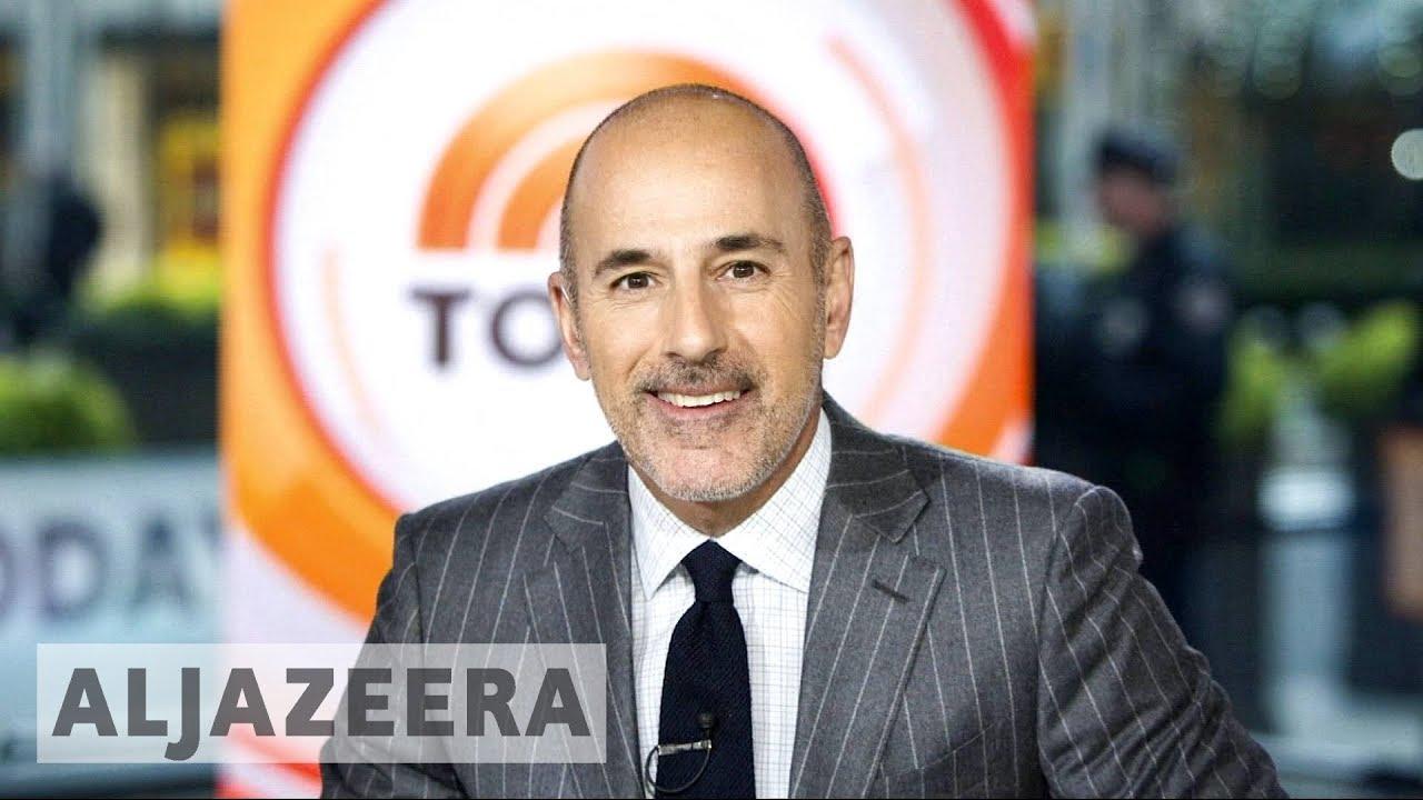 NBC's Matt Lauer fired over 'sexual misconduct'