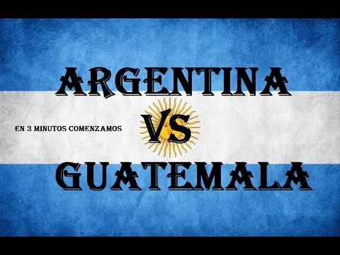 ARGENTINA vs GUATEMALA !! AMISTOSO INTERNACIONAL!! - DrekzeNN - Clash Royale