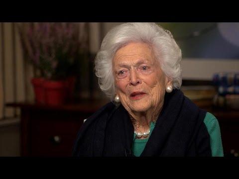 Barbara Bush: Humor has kept love alive with former president
