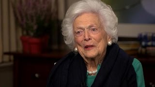 Barbara Bush: Humor has kept love alive with former president