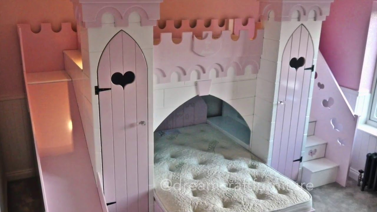 Installation Time lapse of Princess Castle Bunk Bed by