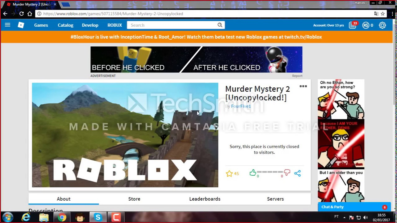 Roblox Mm2 Sandbox Uncopylocked - Roblox Uncopylocked Murder Mystery 2 Roblox How To Get