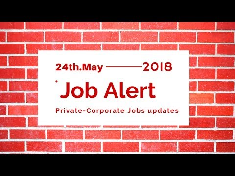 Job Alert - Jobs in Ahmedabad #Gujarat