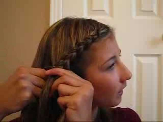 Make it or break it: Laurens braid ponytail hairstyle