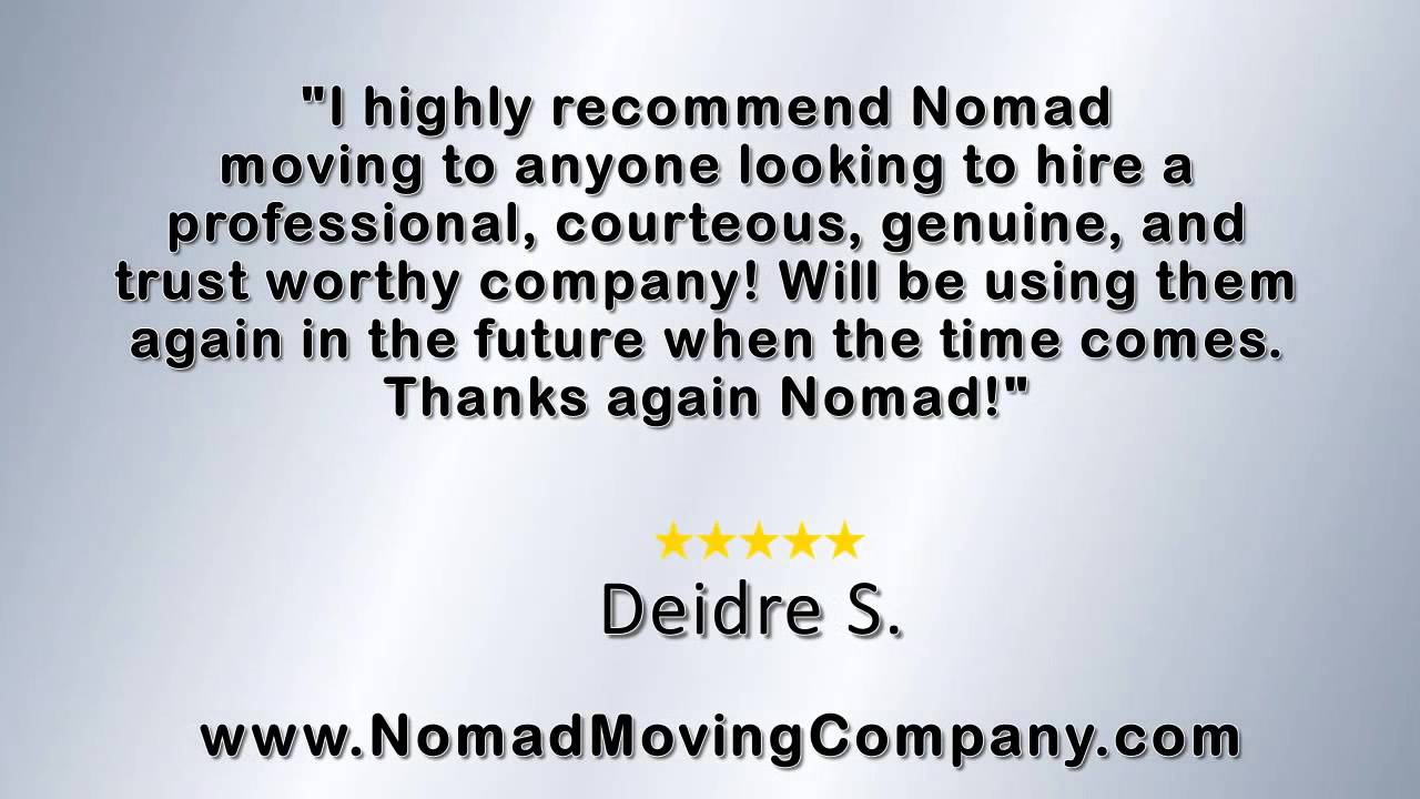 Nomad Moving Company   REVIEWS   New Port Richey, FL Storage Unit Reviews