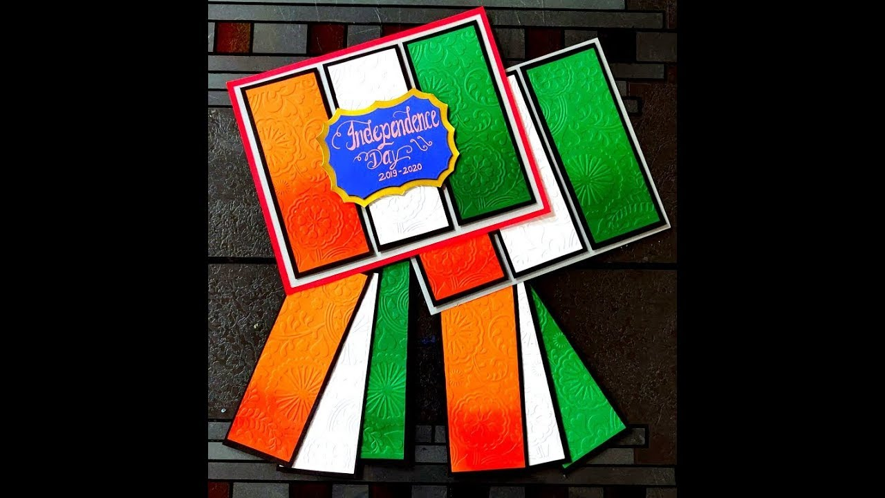 Independence Day Of India Invitation Card Idea In Tricolour