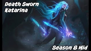 League of Legends: Death Sworn Katarina Mid Gameplay