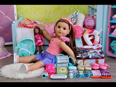 Packing For American Girl Doll Joss Kendrick Hacks!