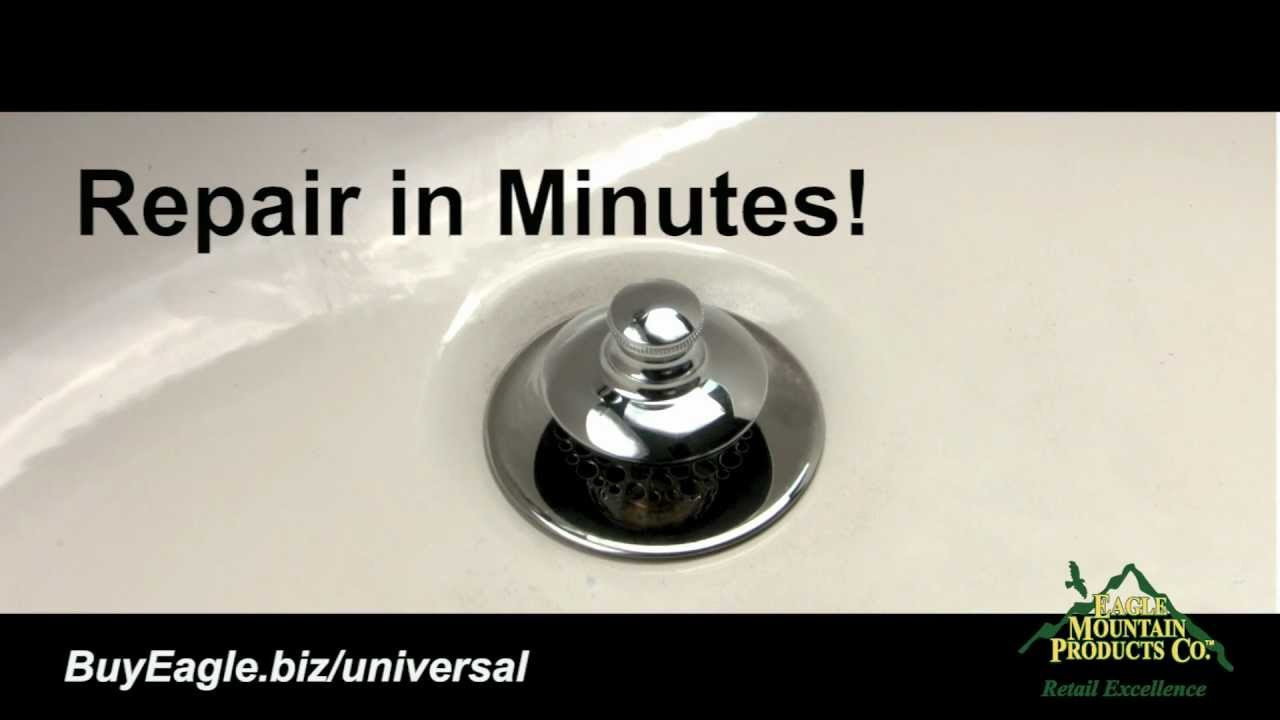 Bathtub Stopper U0026 Drain Installation   Universal NuFit   YouTube