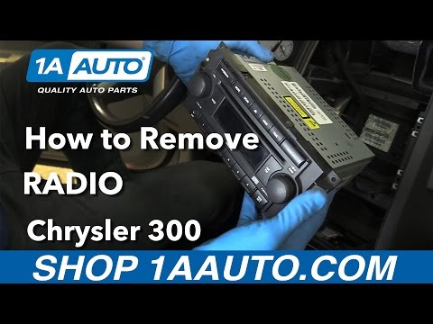 How To Remove & Reinstall Radio 05-10 Chrysler 300
