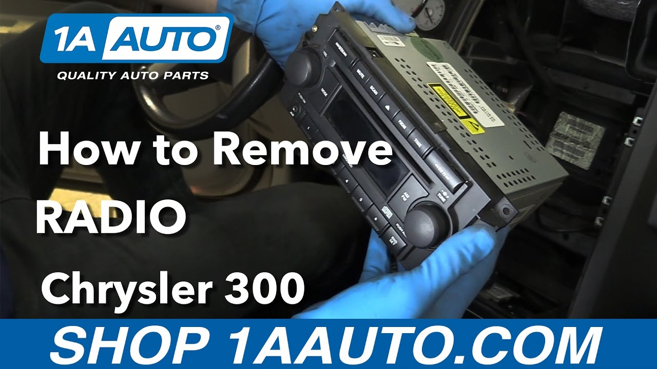 How To Remove Install Radio 2006 Chrysler 300 Buy Quality Parts From Wiring Diagram 1aautocom