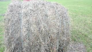 Погрузка рулона сена без погрузчика