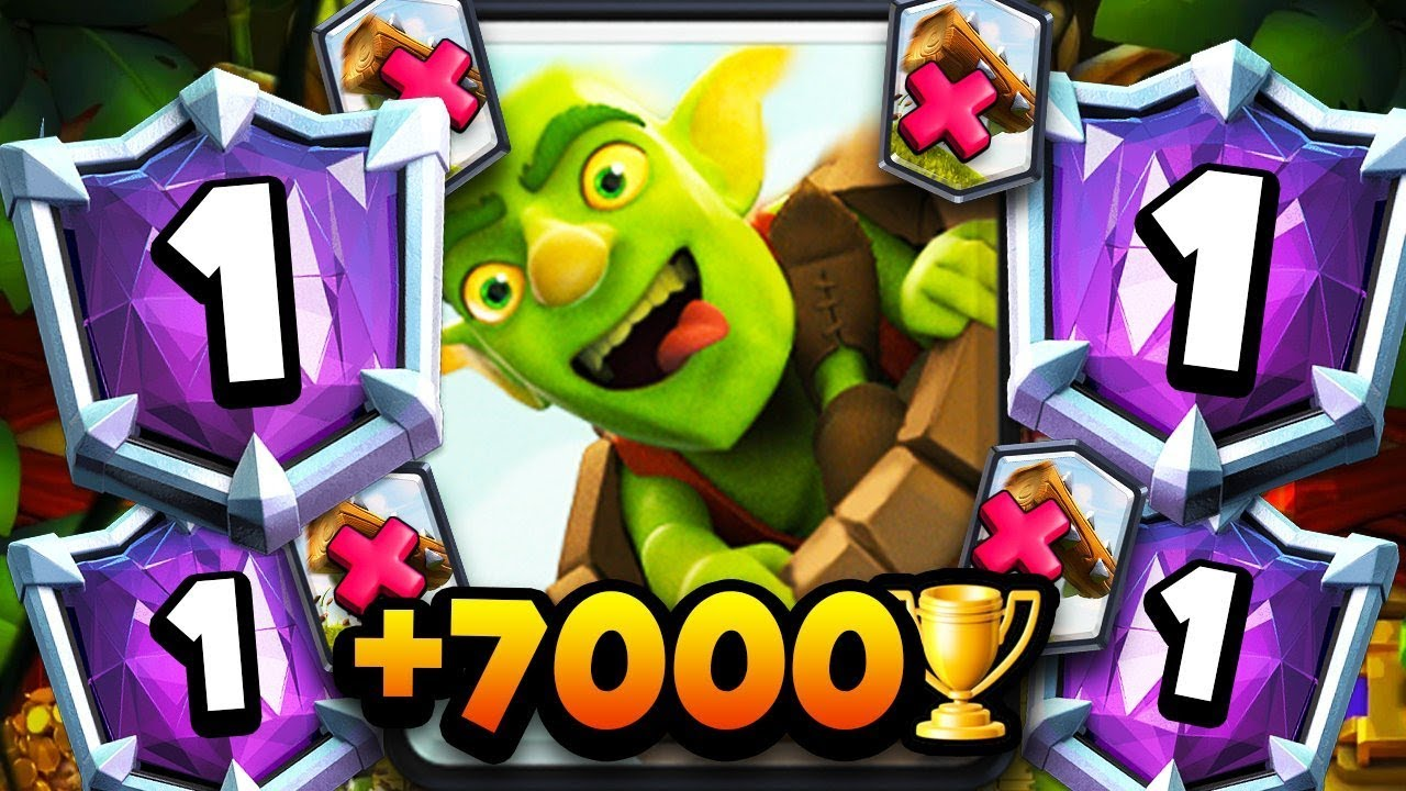 INSANE! 7,000+ TROPHIES w/ NEW LOG BAIT DECK | UNREAL GAMEPLAY!