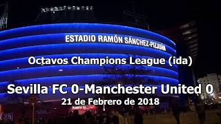 Sevilla 0 - Manchester United 0 - Champions League (Raulalo)