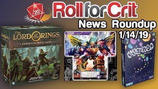 Lord of the Rings: Journeys in Middle-earth Announced | News Roundup 1/14/19