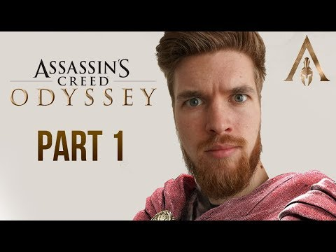 Lets Play Assassins Creed Odyssey - But I'm a Terrible Man (Walkthrough Part 1)