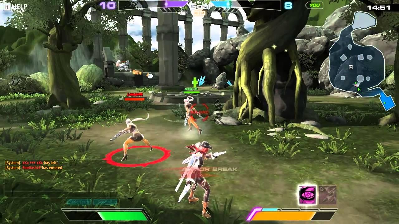 Arche Blade 1 Primera Impresion Lol Rakion Este Juego