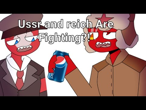 Ussr and reich are fighting?! Countryhumans animatic