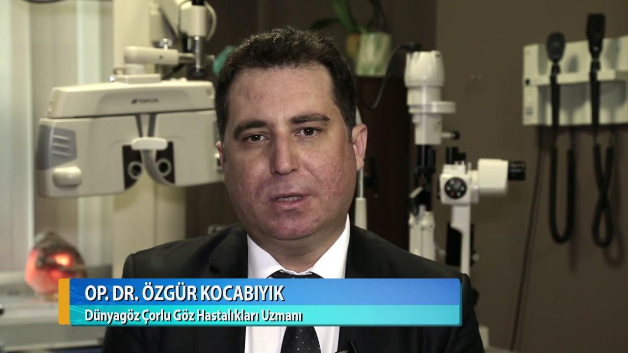 Lazerle göz ameliyatı nasıl yapılır? Op. Dr. Özgür Kocabıyık - Dünyagöz Çorlu
