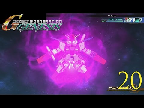 Let's Play SD Gundam G Generation Genesis (English) Episode 20  MS Igloo Part 3