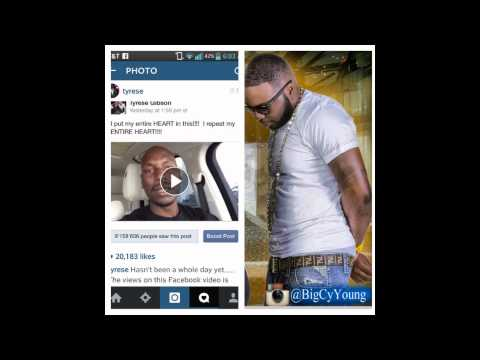 TYRESE GIPSON DISSES SHREVEPORT LOUISIANA AND BIG CY YOUNG CLAPS BACK