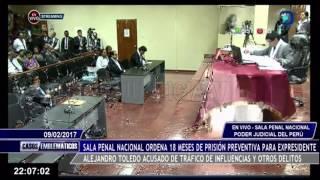 Ordenan captura nacional e internacional de Alejandro Toledo Parte 2