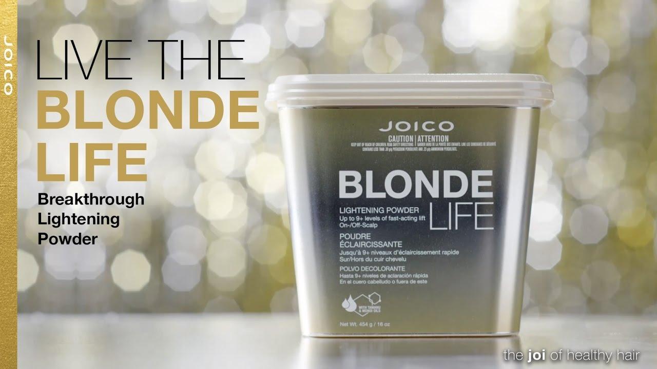 New Blonde Life Lightening Powder From Dark To Light In A Flash