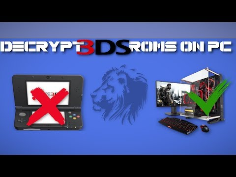 [Citra Special] How to DECRYPT 3DS ROM without a 3DS console on PC even offline