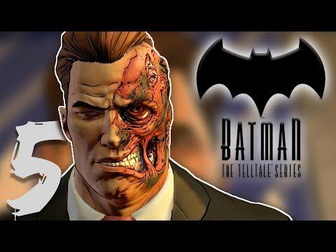 HARVEY, PUT YOUR MASK BACK ON!! | Batman: The Telltale Series | Lets Play - Part 5