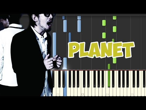 PLANET-Lambsey (Piano Tutorial Synthesia)