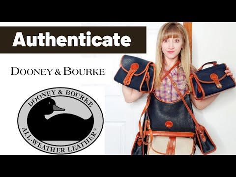 How to Authenticate Vintage Dooney & Bourke for Personal Use or to Resell on Online #Poshmark